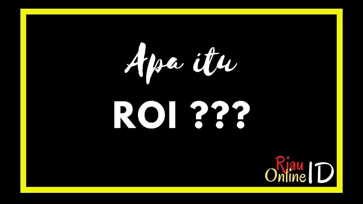 Apa itu ROI
