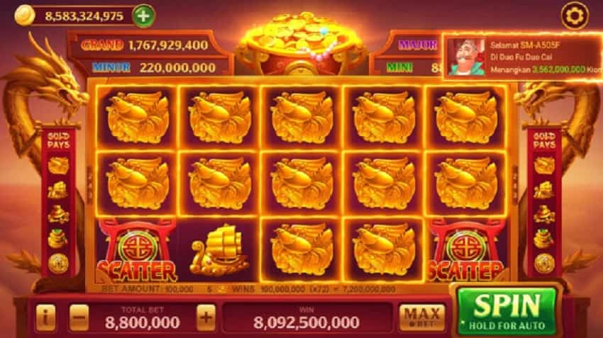Cara Mendapakan Super Win Duo Fu Duo Cai