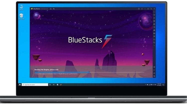 Cara Setting BlueStacks
