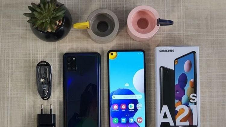 Cara Setting Kamera Samsung A21S
