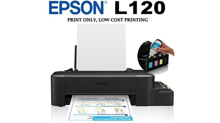 Cara Setting Printer Epson L120